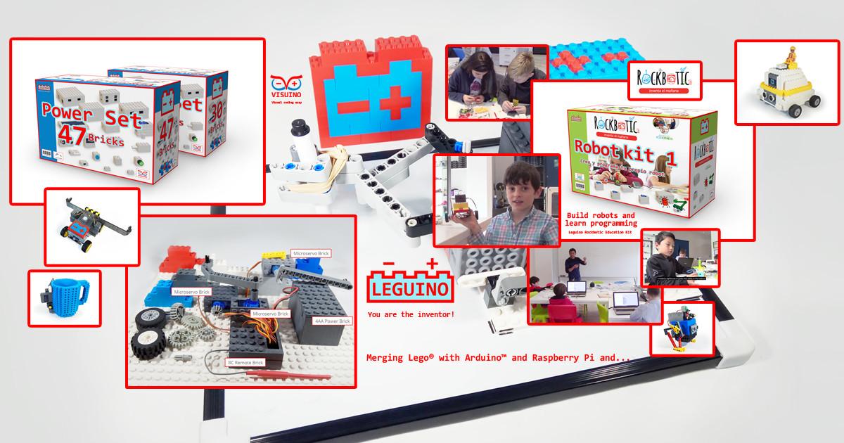 Peguino - Merge toy bricks with ArduinoTM | Indiegogo