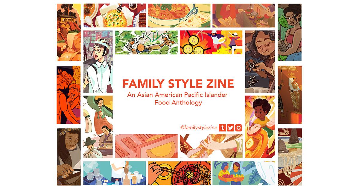 Family Style Zine: An AAPI Food Anthology