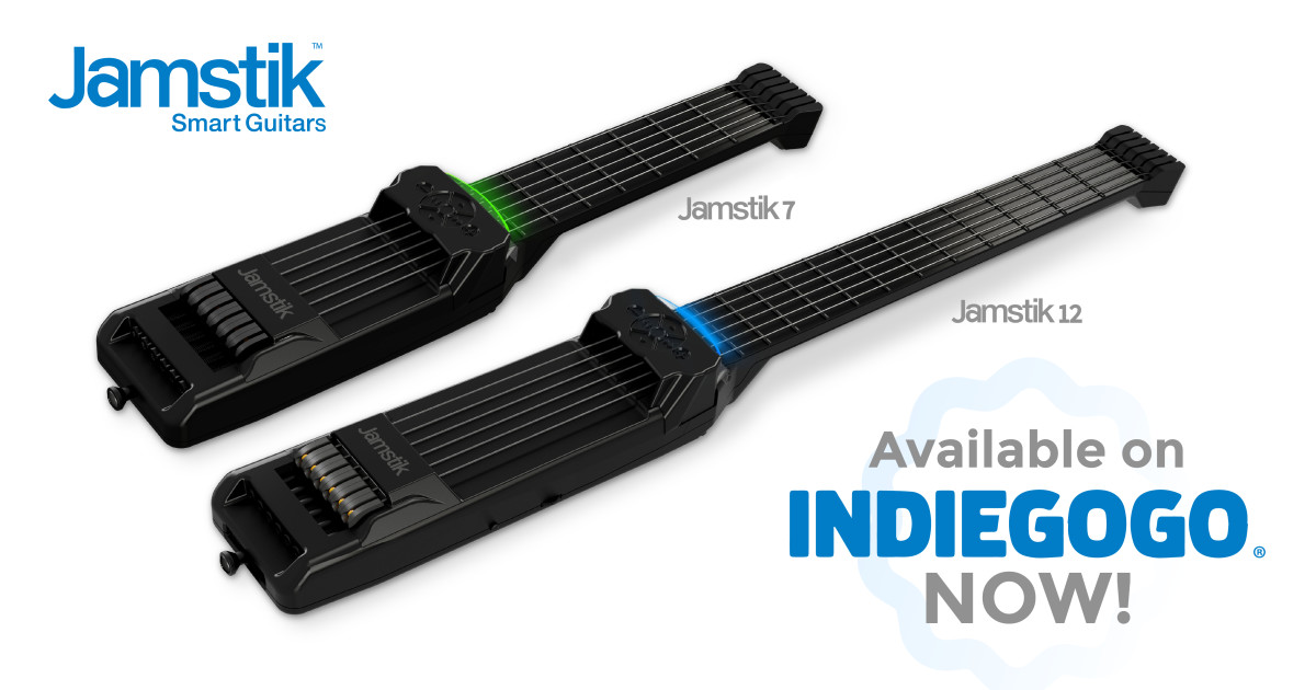 The New Jamstik Guitars - For Learning & Creating