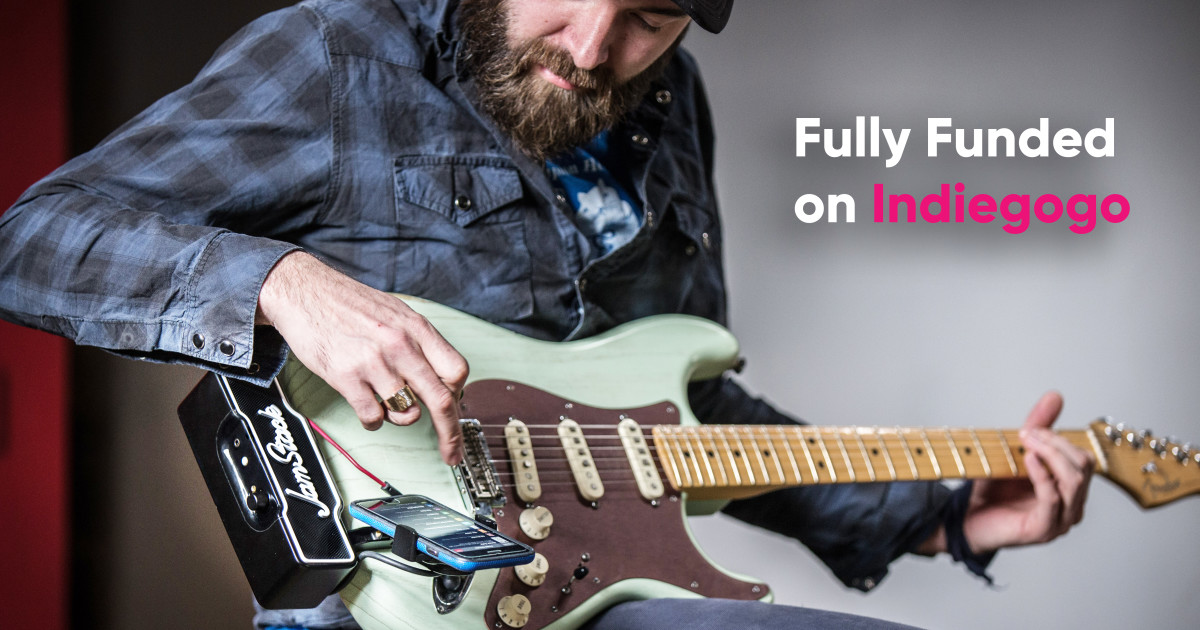 JamStack - The World's First Attachable Guitar Amp
