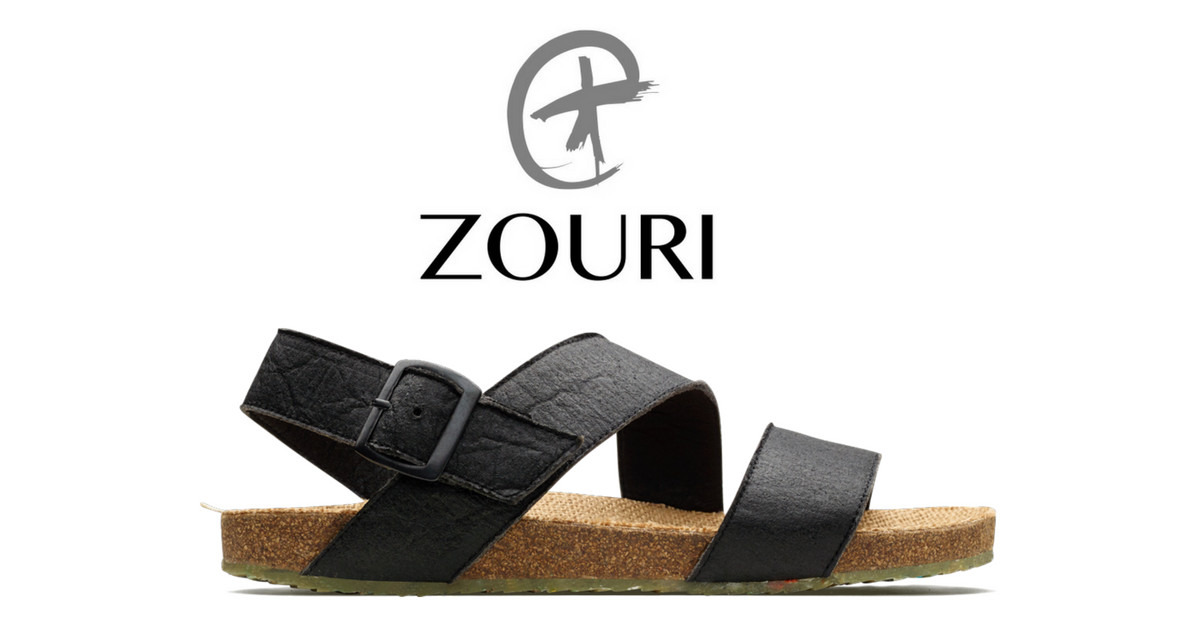 ZOURI - Sustainable Sandal with Plastic from Ocean
