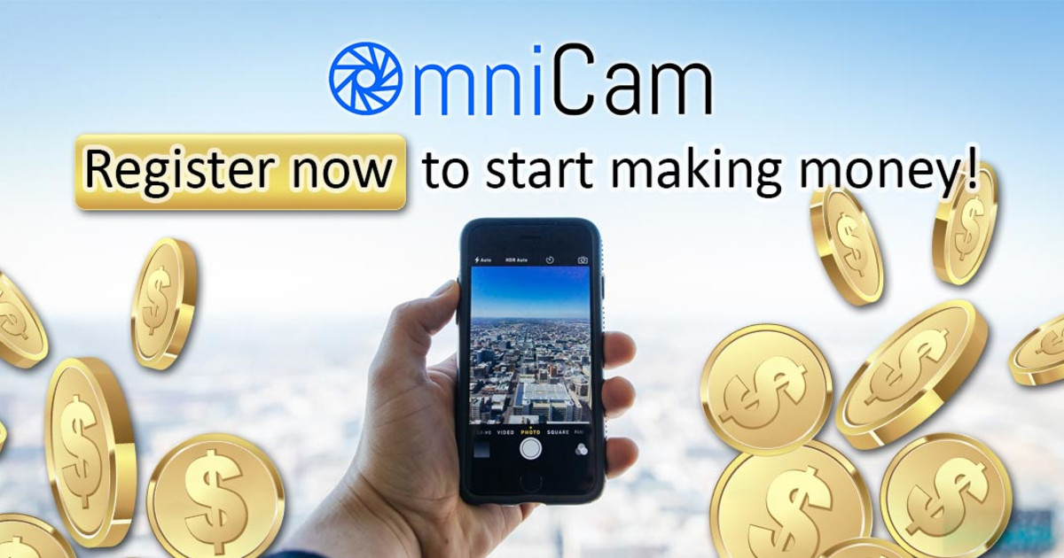 OmniCam App, your remote eyes to the world!