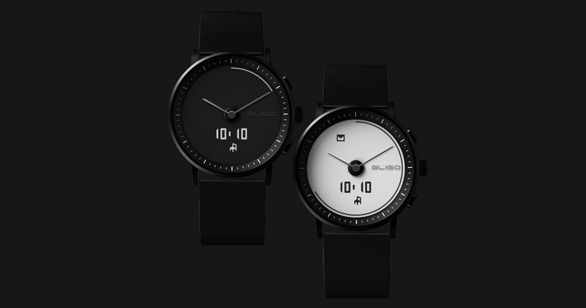 GLIGO E-Ink Smartwatch - Hassle-free with style