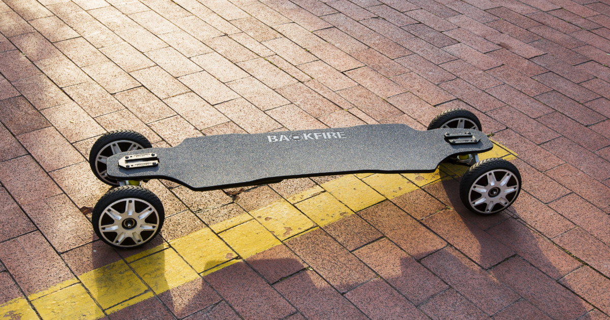 Backfire Ranger All Terrain Electric Skateboard Indiegogo