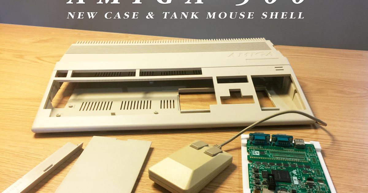 New Compatible Case for Amiga 500 & Plus