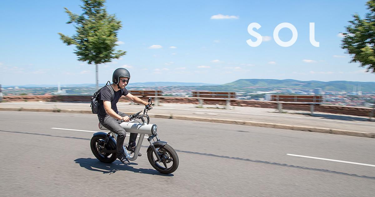 SOL Pocket Rocket - the urban commuter vehicle