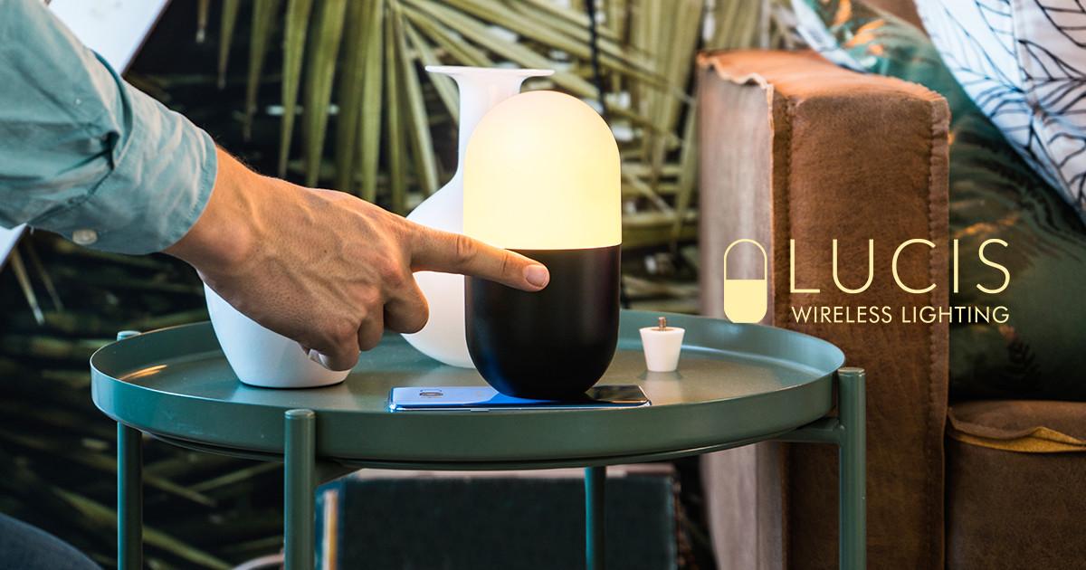 Lucis 3.0: Powerful Mood Lamp, Wireless Charging