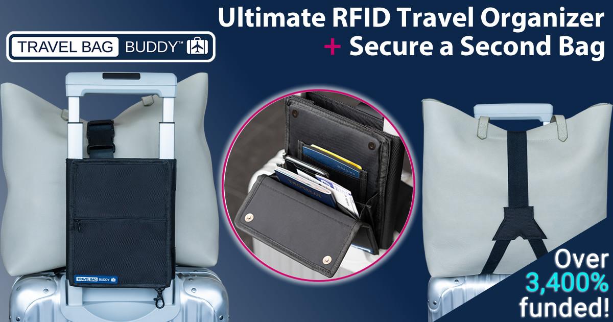 Travel Bag Buddy - Travel Organizer & Secure a Bag