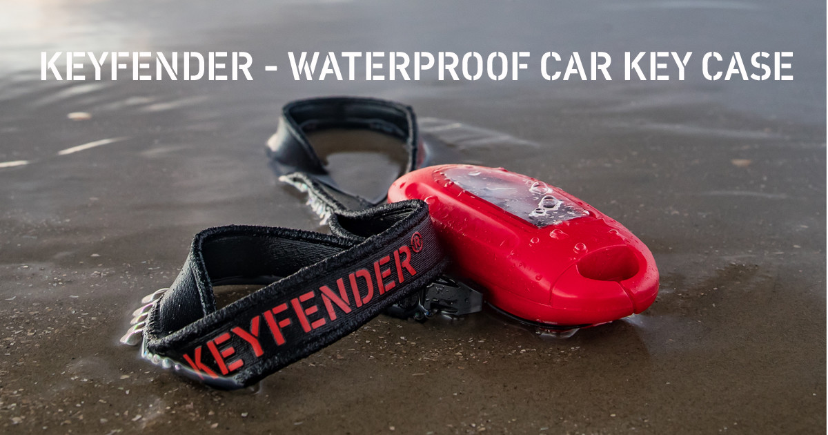 Keyfender - durable, waterproof car key case | Indiegogo