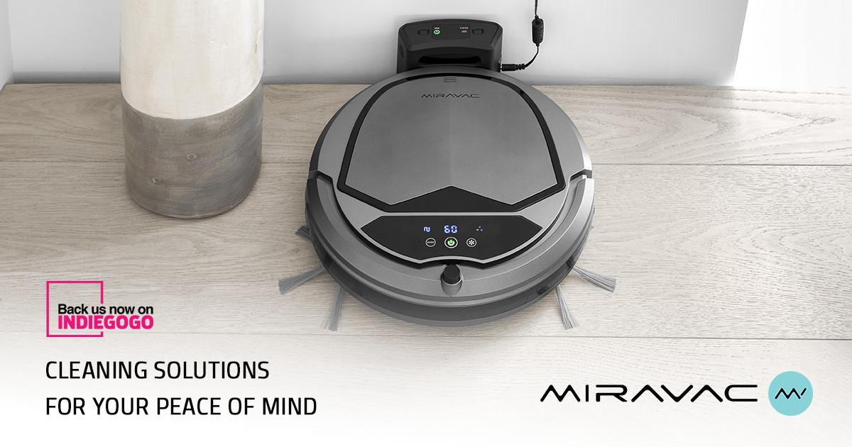 MIRAVAC - Affordable Robotic Vacuum Cleaner | Indiegogo