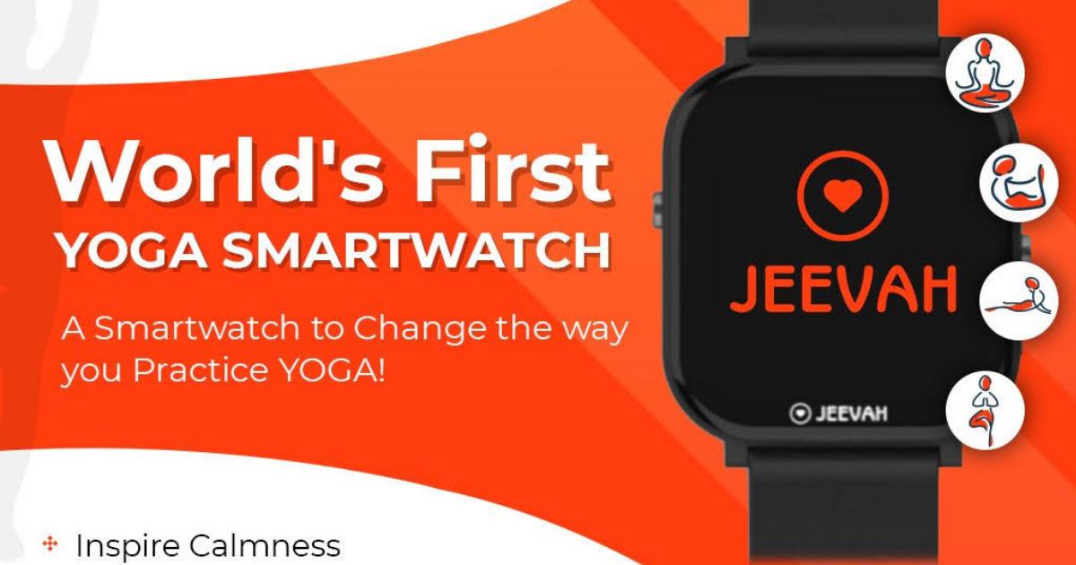 Jeevah - World's First Yoga Smartwatch   Indiegogo