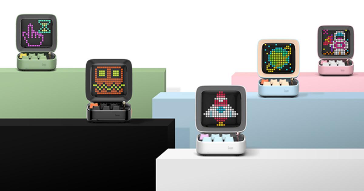 Ditoo丨A Customizable Bluetooth Speaker & Ultra Fun | Indiegogo