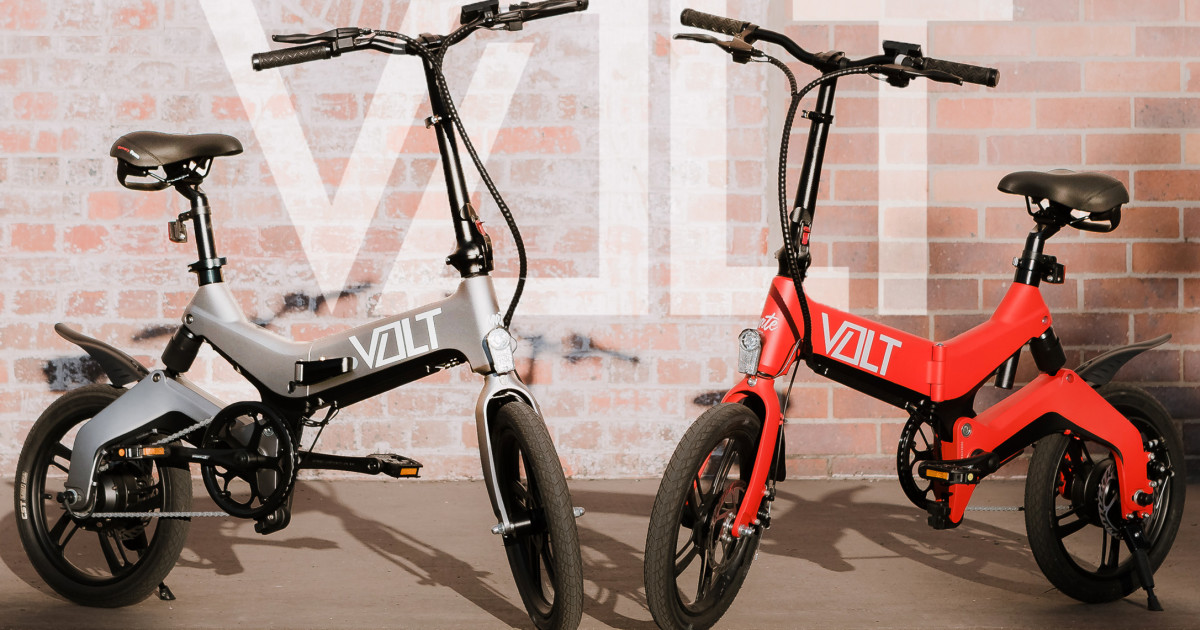 The VOLT: A Foldable eBike Unlike Any Other