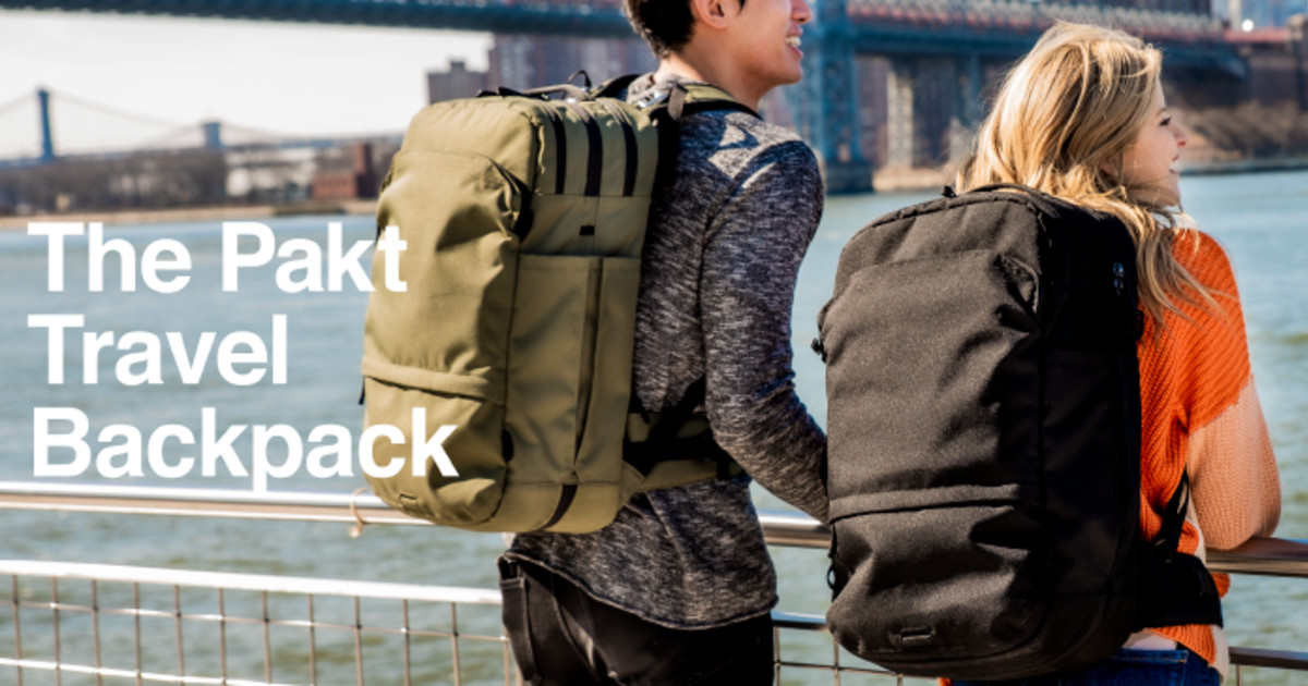 Pakt Travel Backpack: The Carry-On Game Changer