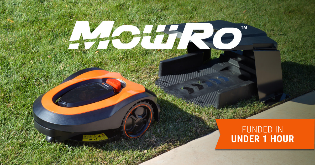 MowRo - Easy, Safe, Fully Autonomous Lawn Mower