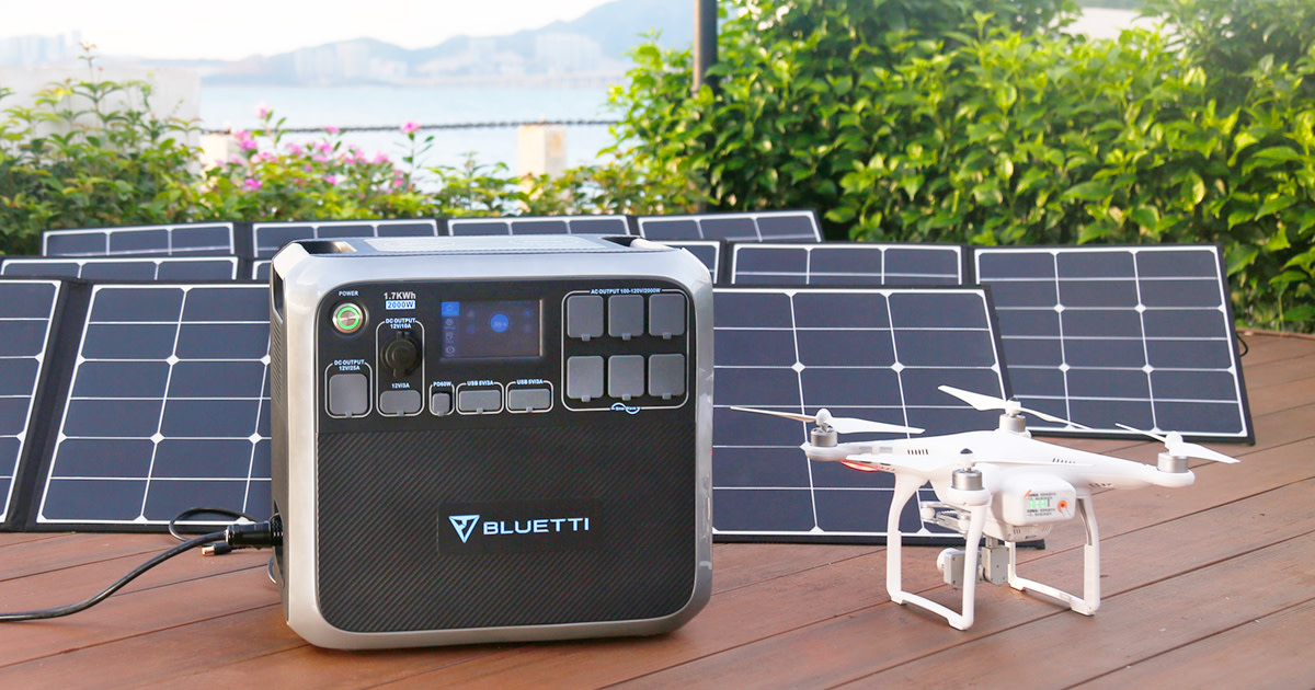 Bluetti AC200 - Most Versatile Solar Power Station