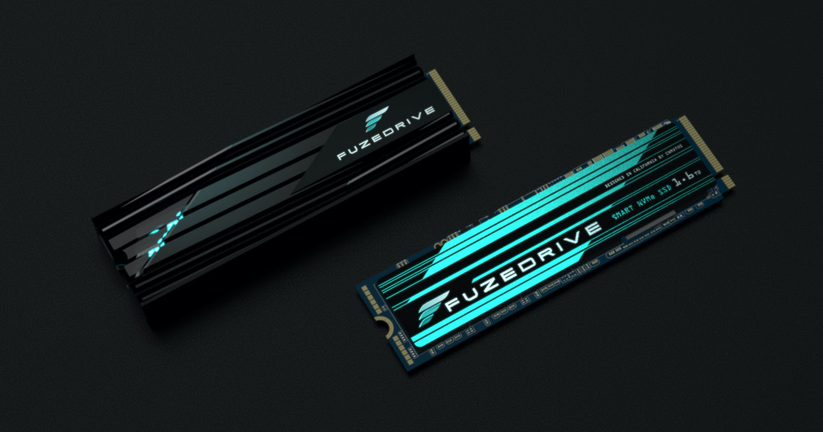 FuzeDrive SSD - The First AI-Powered NVMe SSD