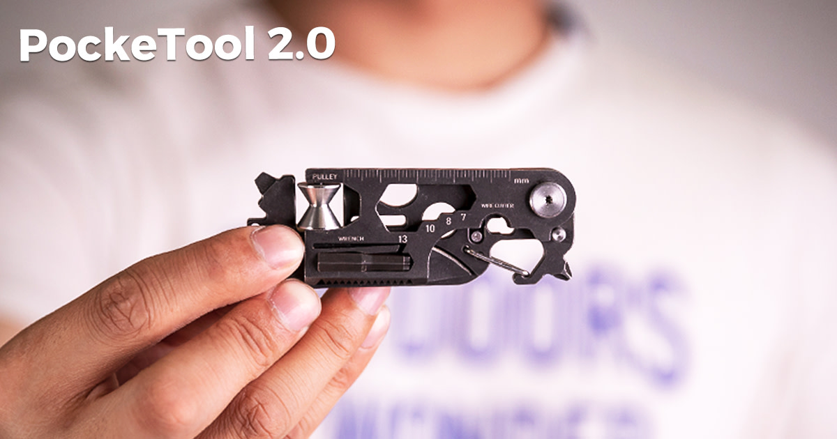 PockeTool 2.0:An EDC Tool supports all your needs