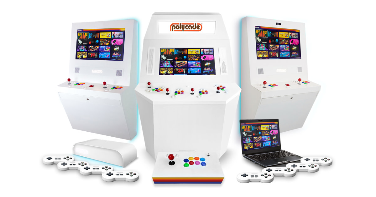 Polycade: Powerful Arcade Style Gaming