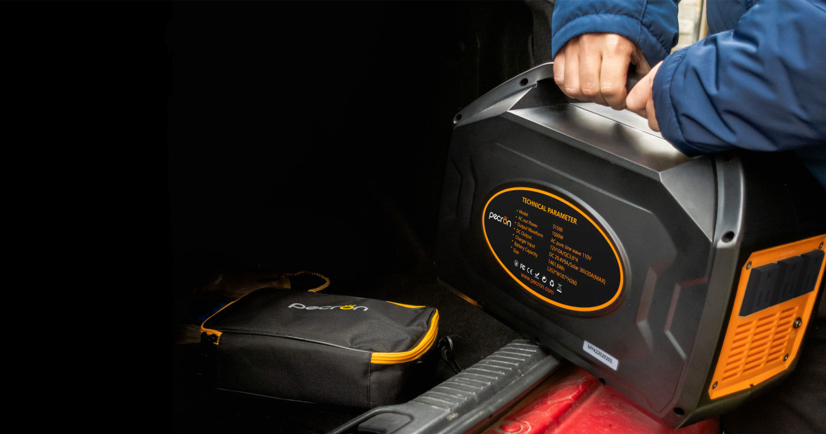 Pecron S1500: Most Compact Portable Power Station