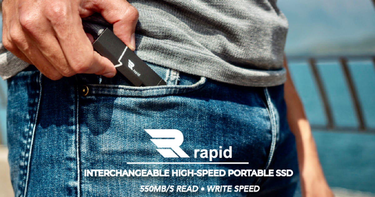 Rapid SSD-Interchangeable High-Speed Portable SSD