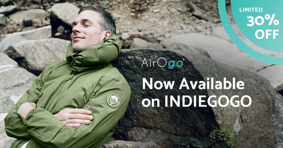 AirOgo Pilloon Ultralight: One Jacket Replaces All