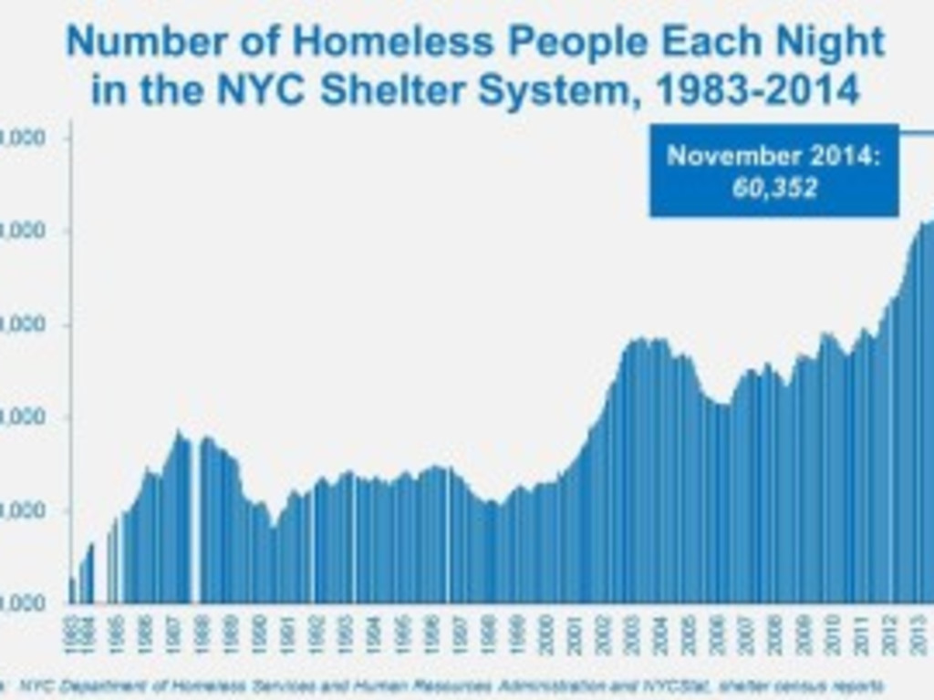 an introduction to the issue of homeless population in new york city