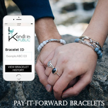 Pay It Forward Trackable Friendship Bracelets Ingogo