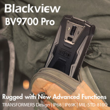 Blackview BV9700 Pro: The Toughest Rugged Phone | Indiegogo