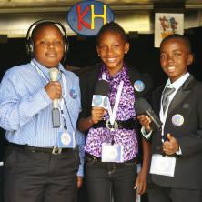 KiDz HuB Jr  Broadcasters LIVE From Team Jamaica Bickle Village at