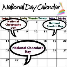 National Day Calendar | Indiegogo