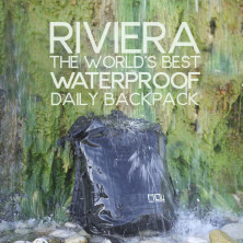 The RIVIERA I Best Waterproof Daily Backpack   Indiegogo 92d54a1ef9