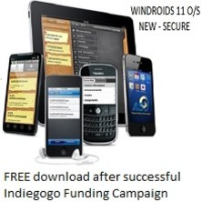 WINDROIDS 11 OS - The Securest Operating System | Indiegogo