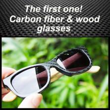 99ffdfde73 TAKEMOTO handmade bamboo wood carbon fiber glasses