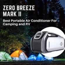 Zero Breeze Mark Ⅱ battery power portable AC | Indiegogo