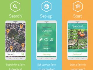SkyFarms Seed To Sky Indiegogo - Farm to table app