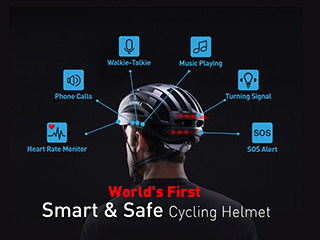 LIVALL Cycling Helmet : Smart, Safe and Simple