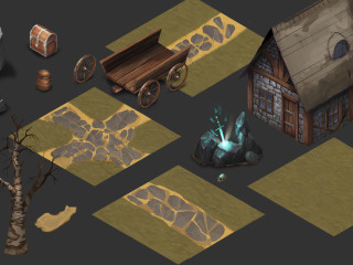 Fantasy 2D Isometric Game Assets | Indiegogo