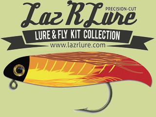 Lazr lure fishing lure kit indiegogo lazr lure is a rewarding way to get into the world of making fishing lures you simply open the kit pop out the pieces put them together and fish solutioingenieria Image collections
