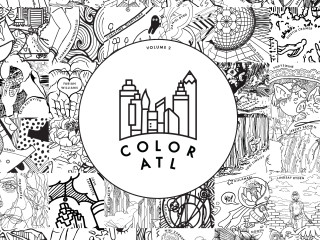 40 New Atlanta Artists Have Joined Our Family And Contributed Awesome Artwork For Volume 2 1 To Giving Every Coloring Book Purchased