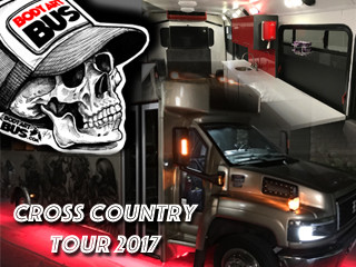 body art bus cross country tour 2017 indiegogo