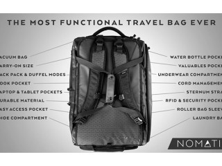 49c740f9a9 The NOMATIC Travel Bag