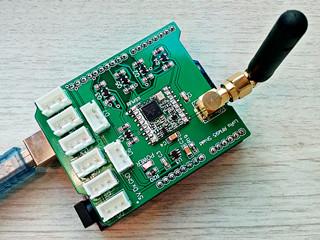RFM95 LoRa Arduino Shield 868-915Mhz | Indiegogo