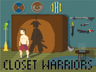 Closet Warriors Gives You The Chance To Jump Into Your Closet And Become  The Warrior You Always Wanted To Be. Clash With Other Warriors And Show  Them Who ...