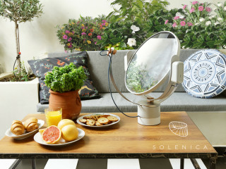 The First Of Her Kind, Caia Illuminates Your Home With Real Sunlight. Sheu0027s  A Smart Robot That Finds And Redirects Natural Light For You.