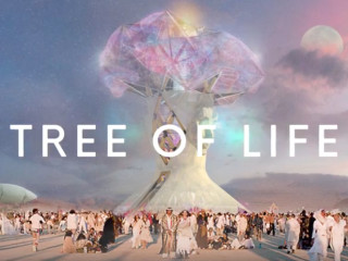 Image result for picture of 2018 burning man tree of life