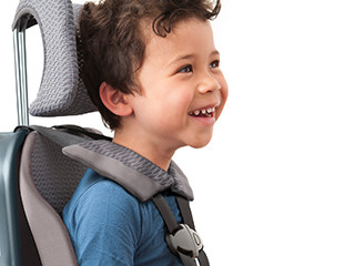 So We Made A Portable Car Seat The WAYB Pico Its Ultralight And Compact Because Of Aerospace Grade Aluminum