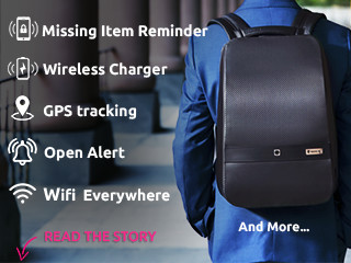 5d17e0045 LUMZAG: The Smart Bag Packed With 7 Cool Features | Indiegogo