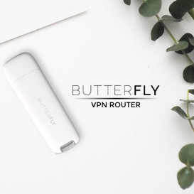 Butterfly Traveler - World's Tiniest VPN Router