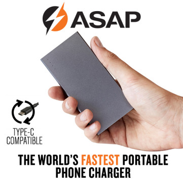 ASAP Dash: World's Fastest Pocket-sized Charger